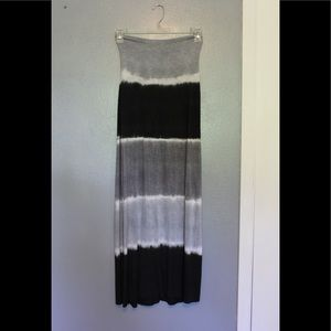 Lucky Brand Tie Dyed Swim Cover Up Maxi M-L